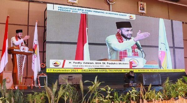 Audy Joinaldi Tantang Fadly Amran