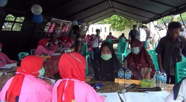 Doorprize Berjibun, Gerai Vaksin Presisi Pulau Punjung Diburu Masyarakat