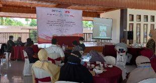Nevi Zuairina dalam sosialisasi peran Indonesia Financial Group (IFG) kepada UMKM