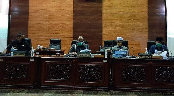 DPRD Sumbar Gelar Rapat Paripurna Nota Pengantar APBD-P 2021