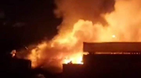 Api menghanguskan Pasar Bawah, Bukittinggi